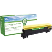 Sustainable Earth by Staples® Reman Color Laser Toner Cartridge, Kyocera TK-562, Yellow