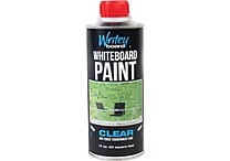 Writeyboard 1-Part Dry-Erase Paint, Clear, 25 or 50 Sq Ft