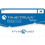 Pyramid TimeTrax Swipe Cards, #26-50, 25 Pack (41303)
