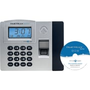 Pyramid TimeTrax Elite Series Automated Biometric Time & Attendance System, Ethernet, Silver/Black, (TTELITEEK)