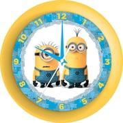 """Pixar """"Despicable Me"""" Minions Wall Clock, 9.75"""""""