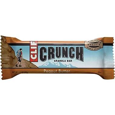 Clif CRUNCH Peanut Butter Granola Bar 1.5 Oz., 30/Pack