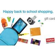 Staples® School Supplies Gift Card $75