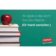 Staples® Apple A Day Gift Cards