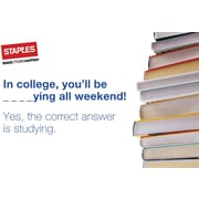 Staples® College Studying Gift Card $25