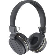 Sentry Black Diamond Headphone, Gold
