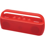 Jensen Portable Wireless Bluetooth Speaker, Red