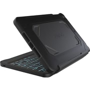 Zagg Rugged Case and Keyboard for Apple iPad Mini, Black