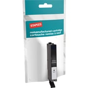 Staples® Reman Inkjet Cartridge, Canon CLI-251XL, Black, High Yield