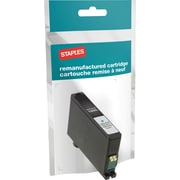 Staples® Reman Inkjet Cartridge, Lexmark 200XL, Cyan, High Yield