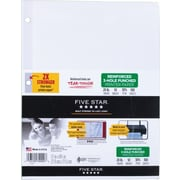 Five Star Reinforced Printer Paper, 100 Sheets/Pack