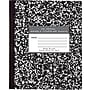 Roaring Spring Paper Products Black Marble Composition Book,