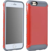 Staples iPhone 6 Light Armor Case, Gray/Red