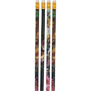 Cynthia Rowley Assorted Floral Pencils, 4 Pack