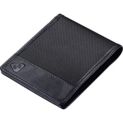 RFID Ballistic Bi-fold Wallet Black