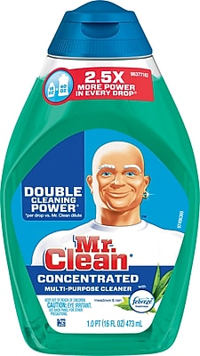 Mr. Clean Liquid Muscle Multi Purpose Cleaner with Febreze Meadows Rain 16 oz. 80242775