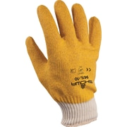 Best Manufacturing Company Yellow PVC Fully Coated 15/Pairs General Purpose Work Gloves, L