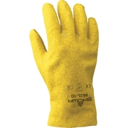 Best Manufacturing Company Yellow PVC Coated 12/Pack Heavy Duty Work Gloves, XL