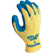Best Manufacturing Company Blue Natural Rubber Palm Coated Work Gloves