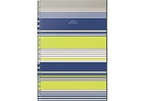 russell + hazel Field Notebook, Blue/Lime