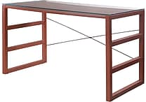 Burton Desk with Glass Top