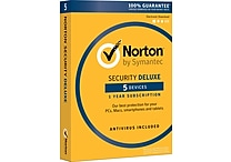 Norton Security Deluxe - 5 Devices (1 User) [Product Key Card]