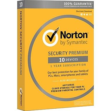 Norton Security Premium 10 Devices 1 User Product Key