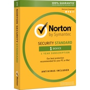 Norton Security Standard for Windows (1 User) [Product Key Card]