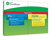 QuickBooks Pro 2016 with Enhanced Payroll (1 User) [Boxed]