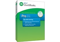 QuickBooks Pro 2016 for Windows (1 User) [Boxed]