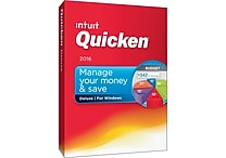 Quicken Deluxe 2016 for Windows (1 User) [Boxed]