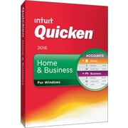 Quicken Home & Business 2016 for Windows (1 User) [Boxed]