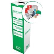 Break Room Separation Zero Waste Box - Small