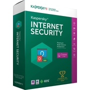 Kaspersky Internet Security for Windows (1-3 Users)[Boxed]