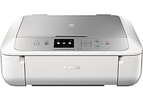 Canon PIXMA MG5722 Inkjet All-in-One Printer, Silver and White