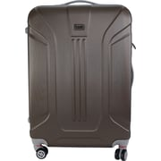 InUSA Boston Collection Brown lightweight ABS 21.7 inch Luggage (IUBOS00M-BRO)