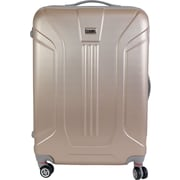 InUSA Boston Collection Gold lightweight ABS 25.1 inch Luggage (IUBOS00B-GLD)