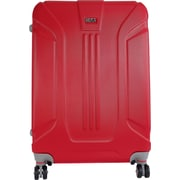 InUSA Boston Collection Red lightweight ABS 25.1 inch Luggage (IUBOS00B-RED)