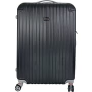 InUSA Los Angeles Collection Black lightweight ABS 26 inch Luggage (IULAX00B-BLK)