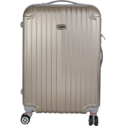 InUSA Los Angeles Collection Champagne lightweight ABS 22.5 inch Luggage (IULAX00M-CHA)