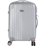 InUSA Los Angeles Collection Silver lightweight ABS 19.1 inch Carry-On Luggage (IULAX00S-SIL)