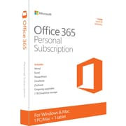 Office 365 Personal, 1-year subscription [Product Key Card]