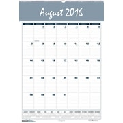 "2016-2017 House of Doolittle, Bar Harbor Academic Wall Planner, 15.5"" x 22"", Yearly, Blue/Gray (353-17)"