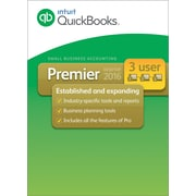 QuickBooks Premier 2016 Windows (1-3 Users) [Download]