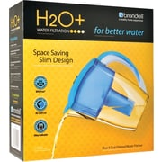 H2O+ Water Filtration Pitcher-6 Cup, Blue or White