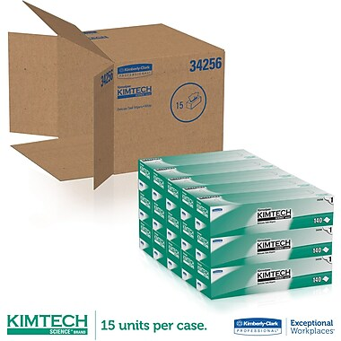 Kimberly-Clark ® Kimtech Science ® Kimwipes ® Task Wipe, Unscented, White, 16.6