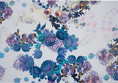Cynthia Rowley Wallpaper Cosmic White Floral