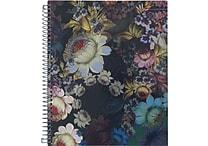 Cynthia Rowley Notebook, Cosmic Black Floral