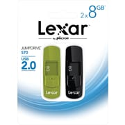 Lexar Jumpdrive S70 8GB USB flash drive 2 pack