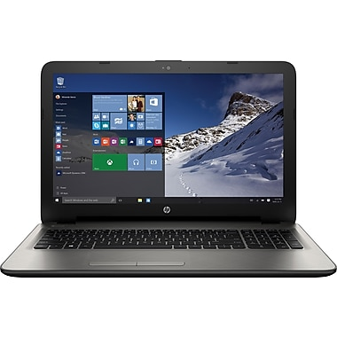HP - Portatif 15-af127ca, 15,6 po HD, AMD quadricoeur A8-7410 APU, RAM 6Go, DD 750 Go, AMD Radeon™ R5, Windows 10, bilingue